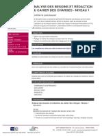 Analyse des besoins et redaction du cahier des charges  Niveau 1.pdf
