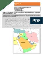 Chapitre 4 Proche et Moyen Orient un foyer de conflits depuis 1945 cours 2020