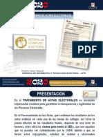 2.Tratamiento Actas Electorales 2020