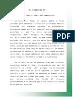 BASES DE LA ONTOLOG_A DEL LENGUAJE (EL OBSERVADOR)