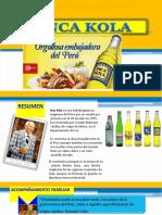 Proceso de Industrialización Inka Kola