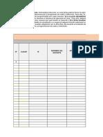 Ficha de docentes-Seguimiento a sesiones Aprendo en casa