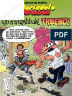 Mortadelo y Filemon - 176 - Bajo el bramido del trueno