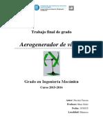 Memoria Proyecto Aerogenerador de viento Nicolai