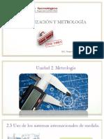 NORMALIZACION Y METROLOGIA
