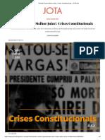 História brasileira é recheada de usos de institutos jurídicos de exceção para solucionar revoltas sociais e crises econômicas.pdf
