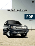 Tata Safari E-brochure