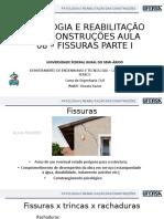 AULA 08 - FISSURAS PARTE I