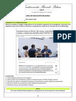 CLASE DE EDUCACIÓN RELIGIOSA - 2do DE SECUNDARIA