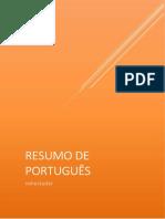 RESUMO DE PORTUGUÊS - MORFOLOGIA