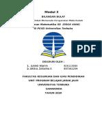 Tgas PDGK 4406 Pembelajaran Matematika kelompok 3