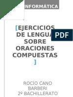 ORACIONES COMPUESTAS2003