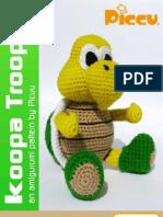 Horned Owl - Amigurumi Pattern - Delicious Crochet | 198x149