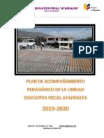 PLAN DE ACOMPAÑAMIENTO PEDAGOGICO 2019-2020 terminado