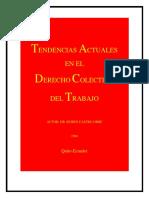 LIBRO TENDENCIAS ACTUALES DEL DERECHO COLECTIVO DEL TRABAJO