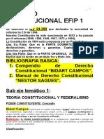 Constitucional - Efip