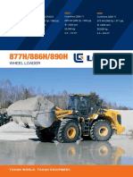Liugong Large Wheel Loader Brochure