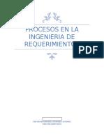 procesos en la ingenieria de requerimientos