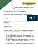 Pasos Inclusion Formulario