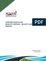 DOTD Construction Plans QC-QA Manual v2013