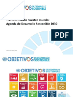 Objetivos de Desarrollo Sostenible - ODS 2030