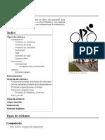 Compendio de Ciclismo