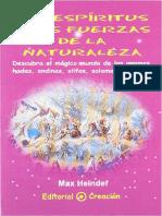 Max Heindel - Los Espíritus y las Fuerzas de la Naturaleza