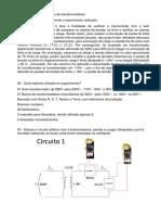 Experimento 2 – Utilização de transformadores1