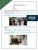 Obligaciones del personal policial (Autoguardado)