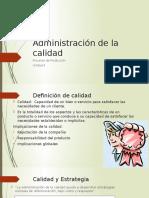 Administración de la calidad (1)