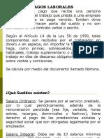 6. PAGOS LABORALES