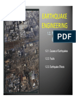 Earthquake Eng_g. - Nature of Earthquakes