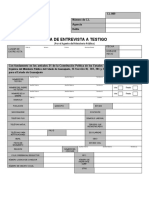 10. ACTA DE ENTREVISTA A TESTIGO