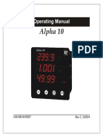 Alpha 10 manual ST