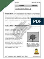 II BIM - 1er. Año - FISICA - Guía 7 - Principio de Arquimede