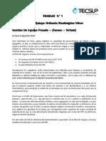 TRABAJO  grupal o1 tecsup virtual gestion de equipo pesado (washington)