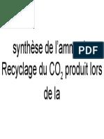synthèse de l'ammoniac
