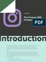 TrackMaven - The Fortune 500 Instagram Report