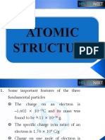 Atomic Structure Chemistry PPT April 2020