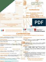Conferencias 12 Oc. dipt Oct-Dic16