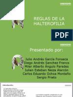Reglas Halterofilia