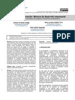 Creatividad e Innovacion Motores de Desarrollo Empresarial