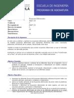 Formato Ecuaciones Diferenciales. (MAT-218)