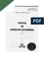 Manual de derecho Sucesoral Verbel