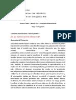 Economia internacional krugman ensayo.docx