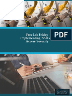 Free Lab Friday - Implementing SSH and Access Security