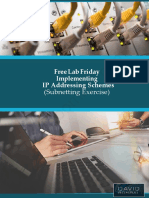Free Lab Friday - Part 6 Implementing IP Addressing Schemes