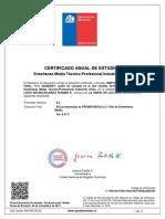 certificado gerth 2°do
