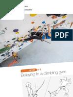 Book - Petzl - ACCESSBOOK 01 - Belaying in a climbing gym - 2017 - EN.pdf