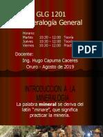 1 Int. mineralogia